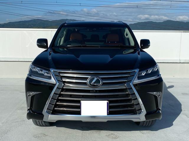 レクサスLX570金融車、フロントトップ