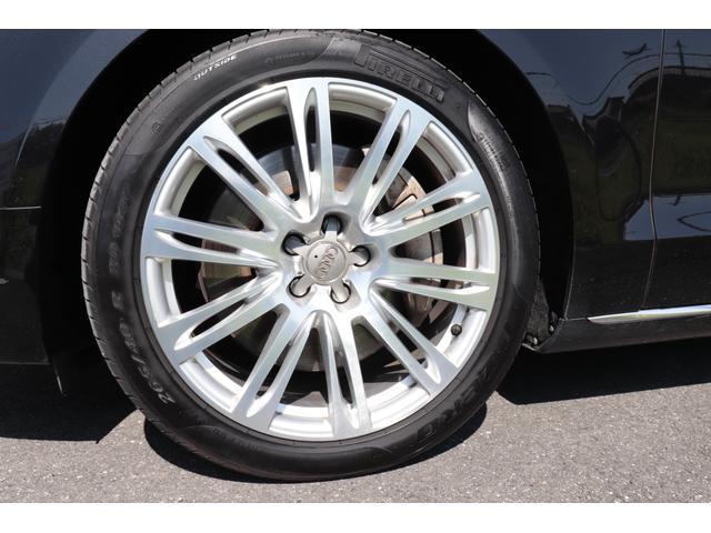 アウディA8金融車、タイヤ