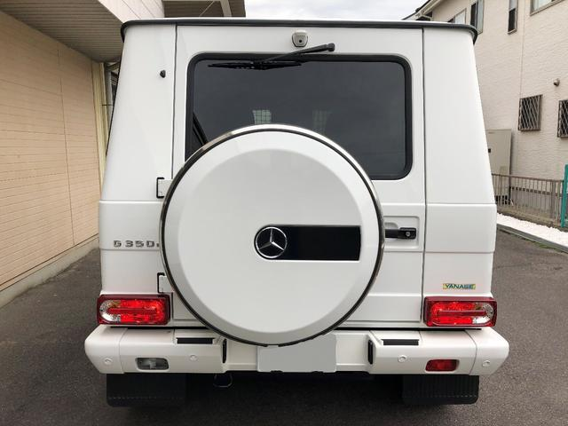 金融車ベンツG350dラグジュアリーパッケージバック