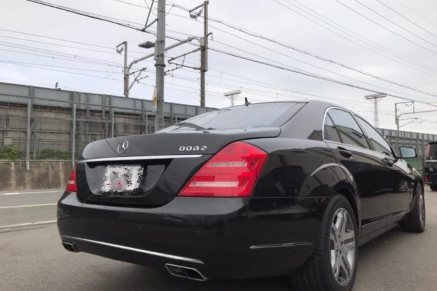 Benz,S600,back