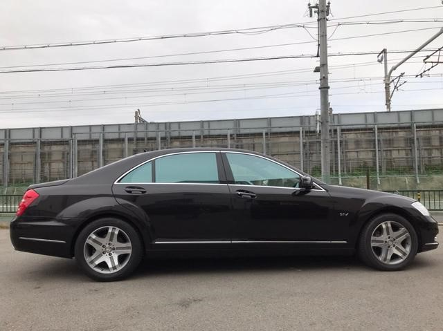 Benz,S600,side
