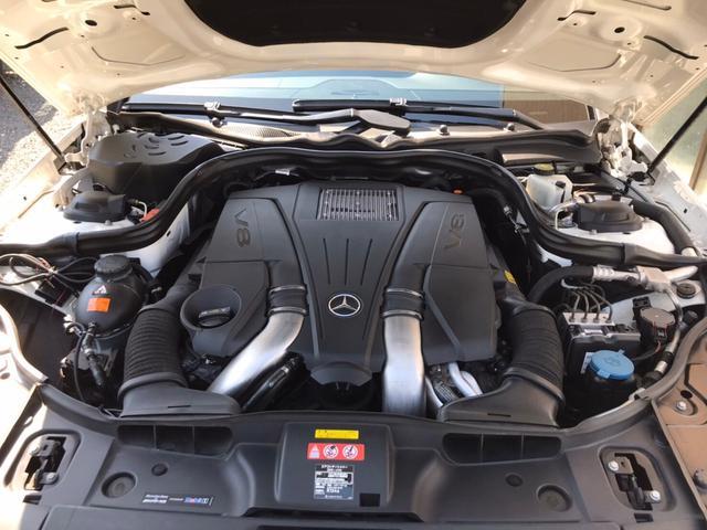 メルセデスベンツCLS550金融車、エンジンルーム