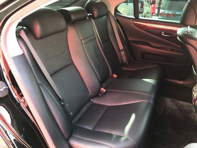LS460,金融車,後部座席