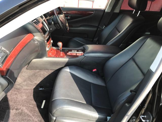 LS460,金融車,運転席