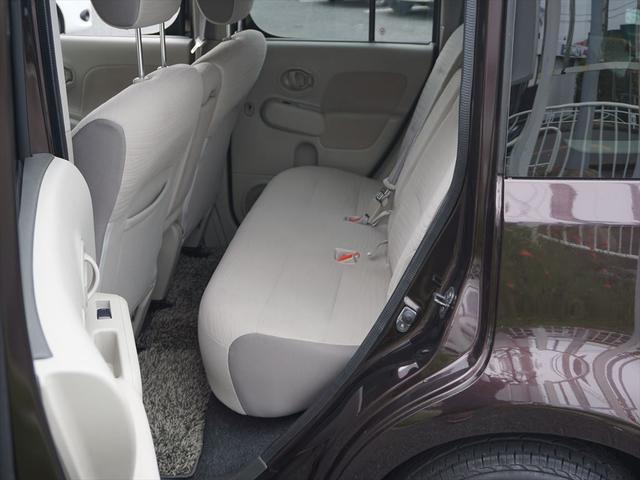 キューブ,ローン車,後部座席
