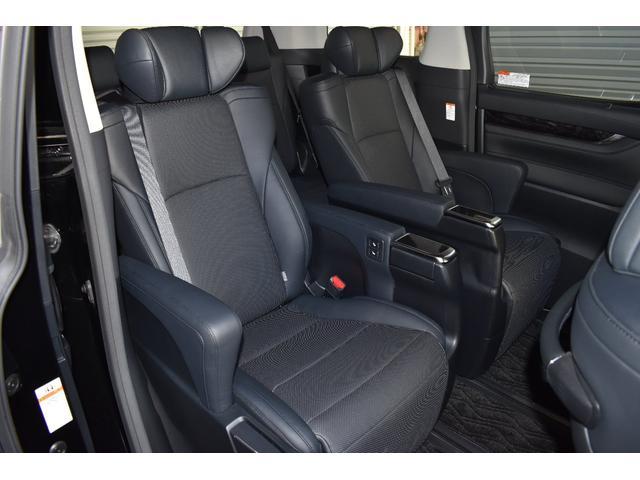 ヴェルファイア,金融車,後部座席