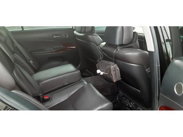 レクサスGS,ローン車,後部座席