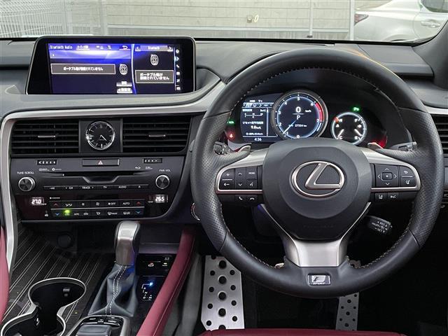 レクサスRX、資金調達、買い取り、運転席
