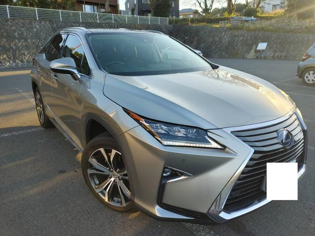 レクサスRX、ローン中売却車、関東圏ナンバー